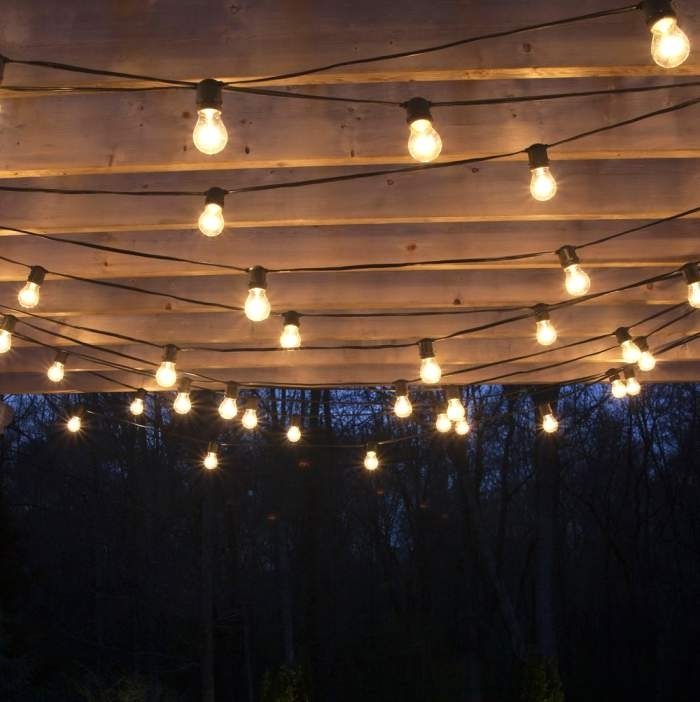 Outdoor Patio Hanging Lights Ideas That Will Bring Natural Regarding Regarding Outdoor Hanging Lights (View 8 of 10)