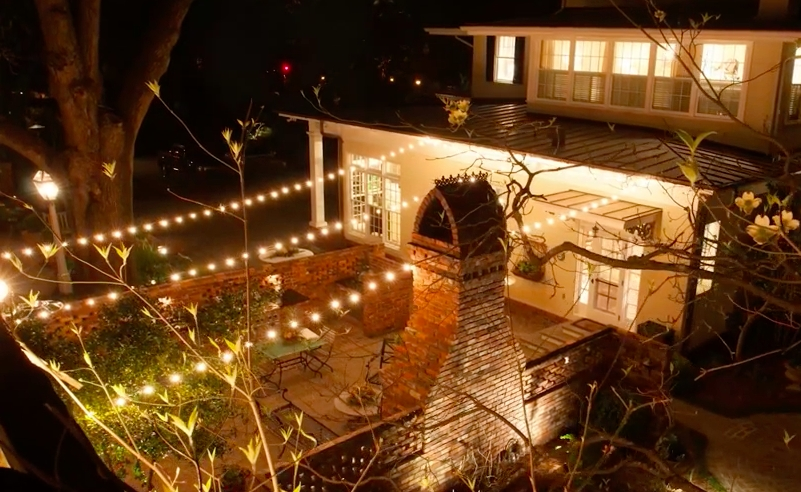 Outdoor Patio String Lighting - Outdoor Designs within Hanging Outdoor Lights In Backyard (Image 6 of 10)
