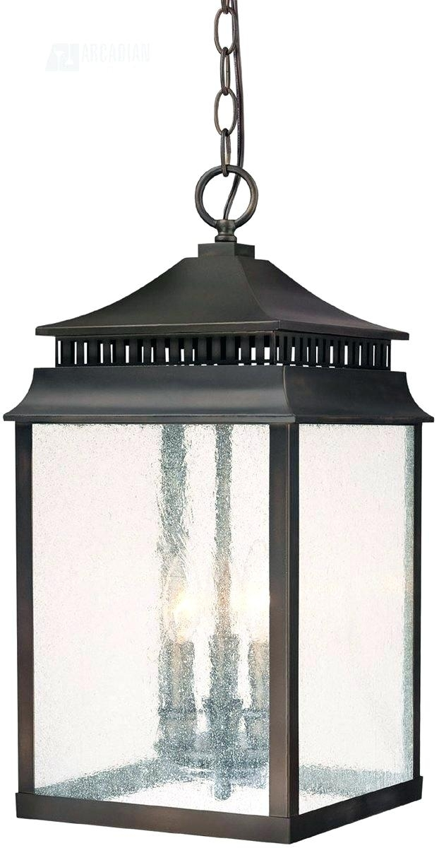 Outdoor Pendant Light Creek Transitional Outdoor Hanging Light with regard to Outdoor Hanging Lights At Amazon (Image 8 of 10)