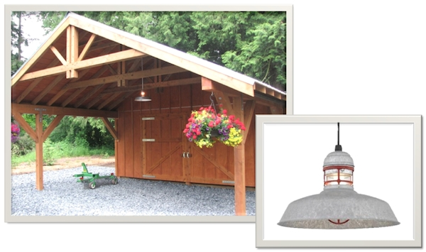 Outdoor Pendant Lighting For Washington Winters | Blog throughout Outdoor Hanging Barn Lights (Image 7 of 10)