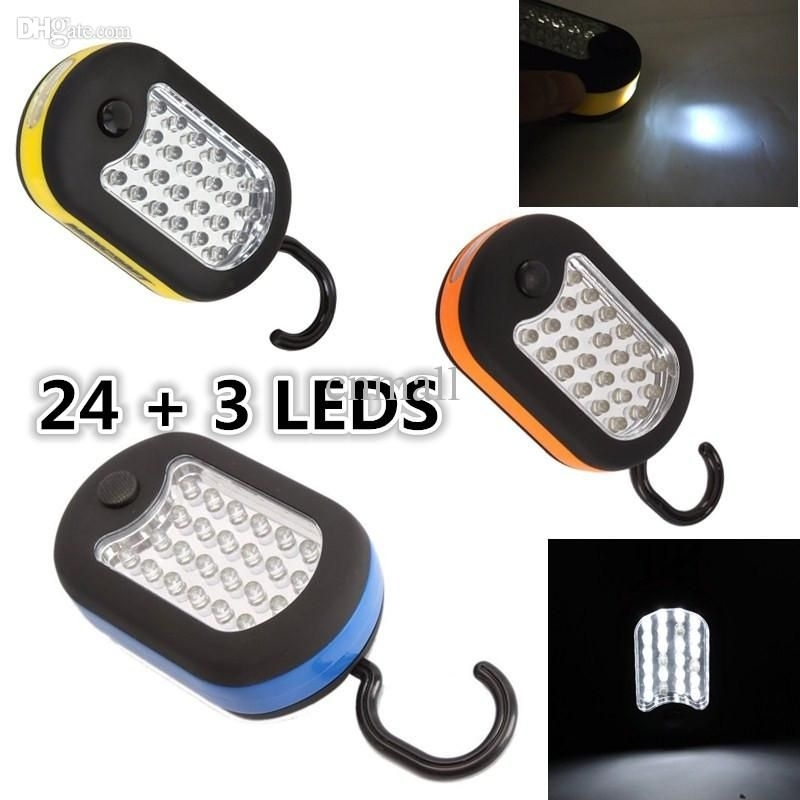 Outdoor Portable Lanterns Tent Lights Work Light Camping Light with regard to Outdoor Hanging Work Lights (Image 6 of 10)