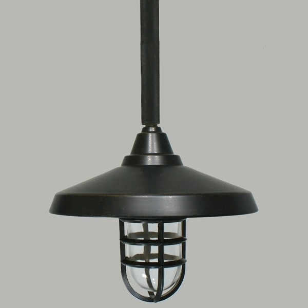 Outdoor Rod Pendant Lighting Hanging Ceiling pertaining to Hanging Outdoor Light on Rod (Image 10 of 10)