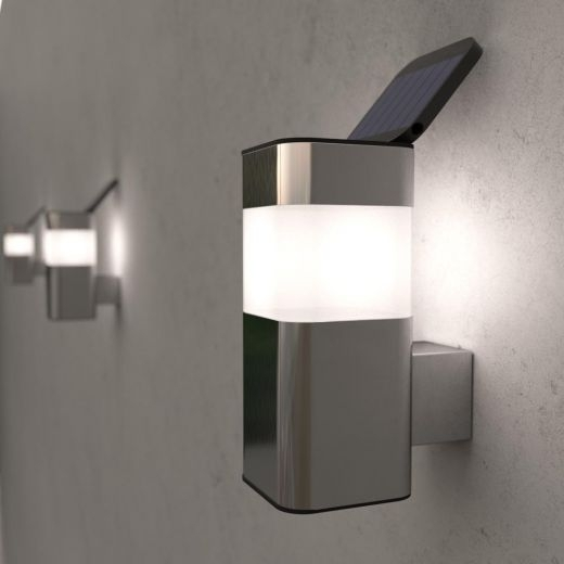 Outdoor Solar Powered Kodiak Mini Solar Wall Light - Ss9935 with regard to Outdoor Solar Wall Lights (Image 7 of 10)
