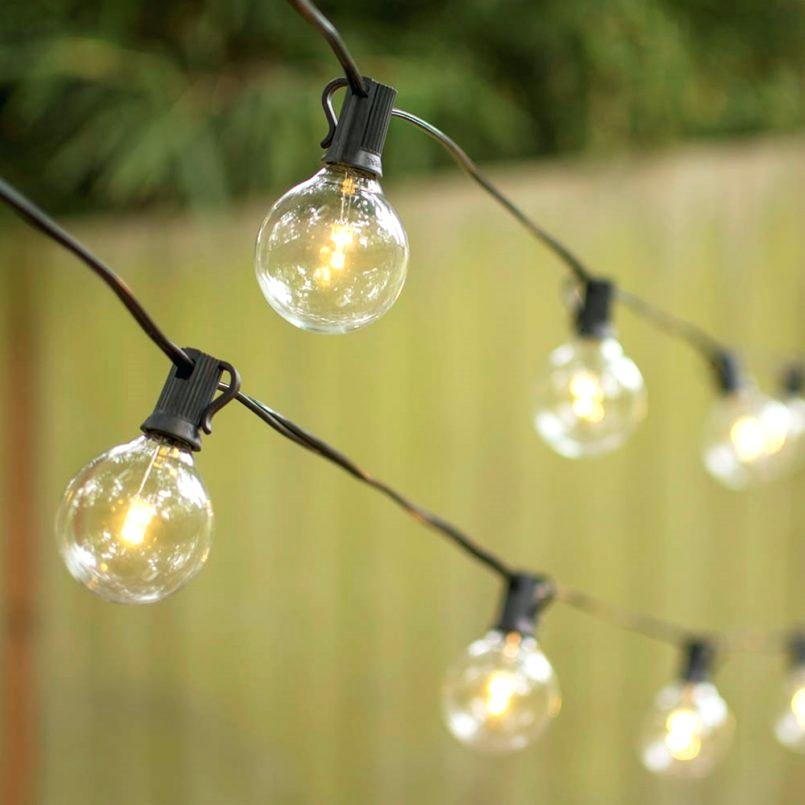Outdoor Strand Lighting Patio Outdoor String Lights 4 Outdoor Patio pertaining to Outdoor Hanging Lights at Walmart (Image 8 of 10)