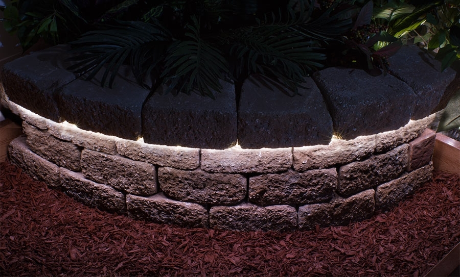 Outdoor Super Flexible Led Light Strip - Weatherproof Led Tape Light throughout Outdoor Rock Wall Lighting (Image 7 of 10)