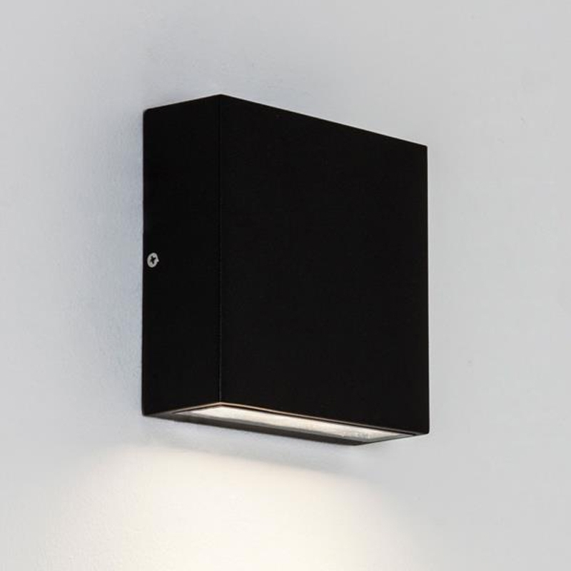 Featured Photo of Black Outdoor Led Wall Lights