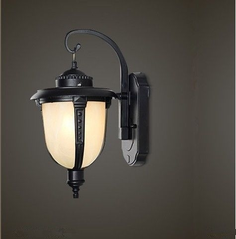 Outdoor Wall Lamp, Patio / Balcony / Water Proof Garden Wall Lamp within South Africa Outdoor Wall Lighting (Image 8 of 10)