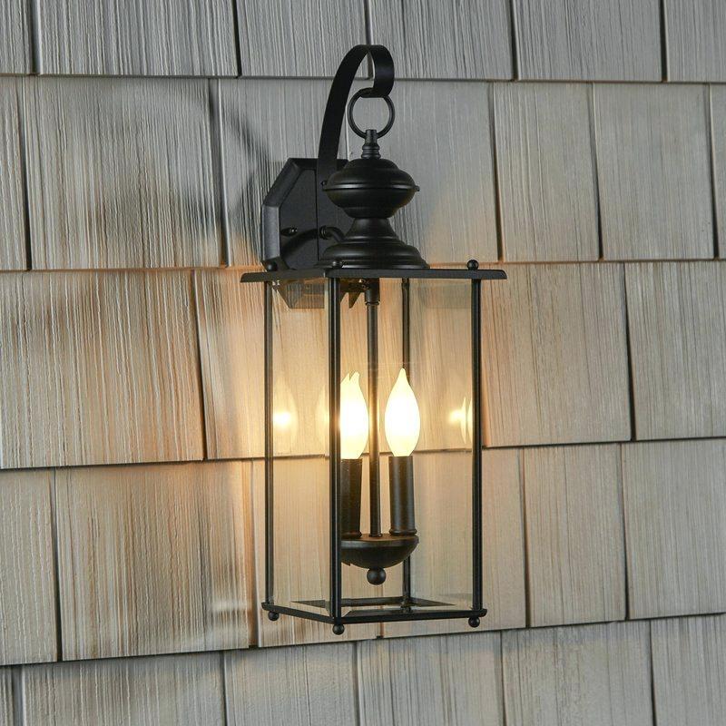 Outdoor Wall Lantern Lighting Outdoor 1 Light Wall Lantern inside Outdoor Wall Lantern By Transglobe Lighting (Image 1 of 10)