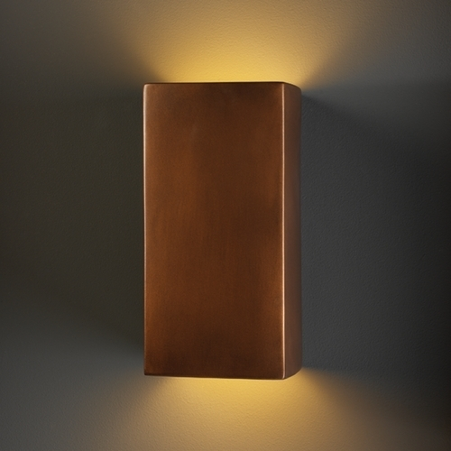 Outdoor Wall Light In Antique Copper Finish | Antique Copper for Copper Outdoor Wall Lighting (Image 9 of 10)