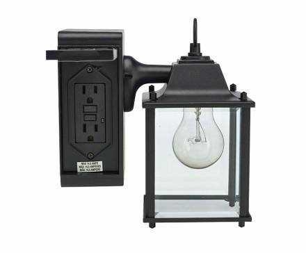 Outdoor Wall Light With Electrical Outlet Lovely Outdoor Wall Light with Outdoor Wall Lights With Electrical Outlet (Image 8 of 10)