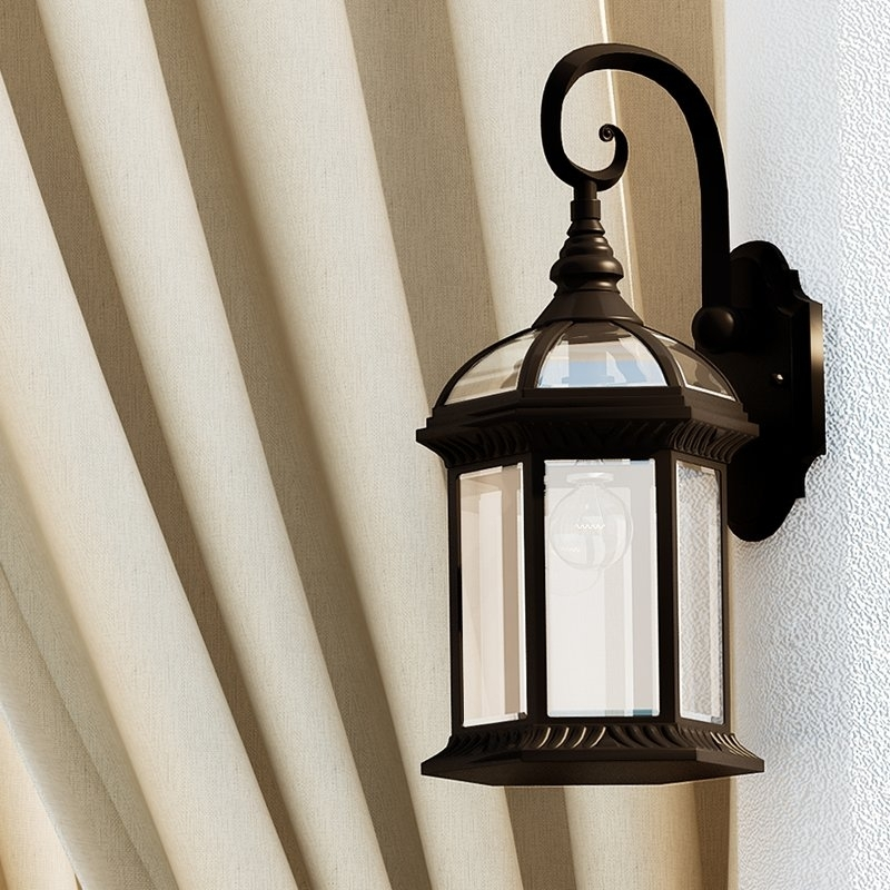 Outdoor Wall Lighting Coach Lights Youll Love Wayfair Regarding with Outdoor Wall Lighting at Wayfair (Image 7 of 10)