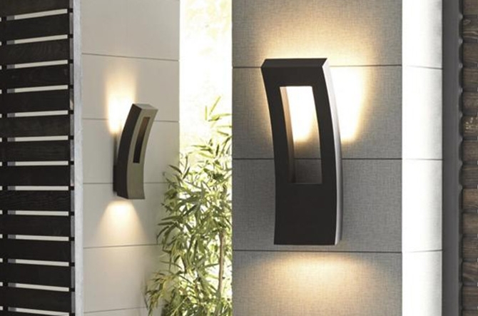 Featured Photo of Contemporary Outdoor Wall Lighting