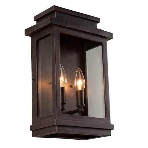 Outdoor Wall Lighting On Sale | Bellacor Pertaining To Rectangle Outdoor Wall Lights (View 7 of 10)