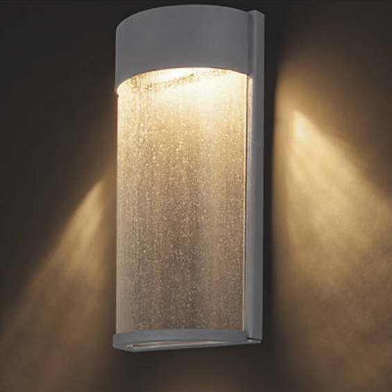 Outdoor Wall Lights Wall Mounted Outdoor Lighting At Lumens Modern inside Elegant Outdoor Wall Lighting (Image 8 of 10)