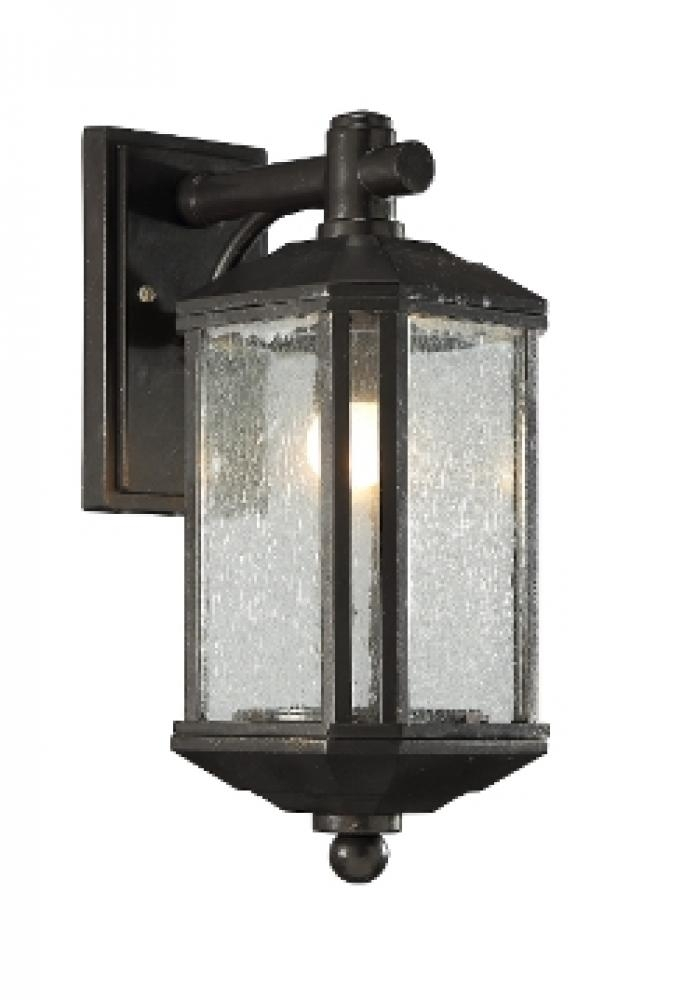 Outdoor Wall Mount Bz Copper W/seeded Glass 16X6X9 : Ol7416Bcss In Outdoor Wall Lighting With Seeded Glass (View 4 of 10)