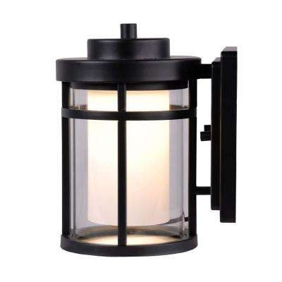 Outdoor Wall Mounted Lighting - Outdoor Lighting - The Home Depot pertaining to Outdoor Wall Lighting at Home Depot (Image 8 of 10)