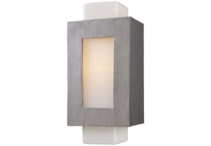 Outdoor Wall Mounted Lighting Small — Fabrizio Design : Trademarks for Outdoor Wall And Post Lighting (Image 8 of 10)