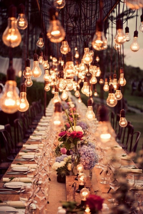 Outdoor Wedding String Lights Buying Guide For Wedding | Hanging with Outdoor Hanging Lights Bulbs (Image 10 of 10)