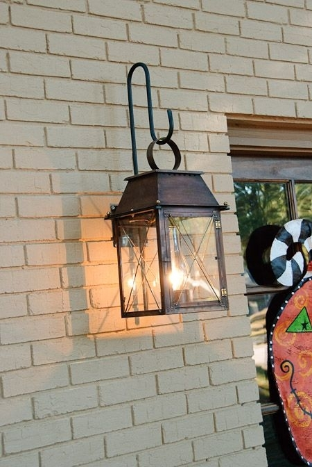 Featured Photo of Hanging Outdoor Lights On Brick