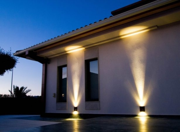 Outside Wall Lights For House Delectable Apartment Painting New At Pertaining To Outdoor Home Wall Lighting (View 2 of 10)