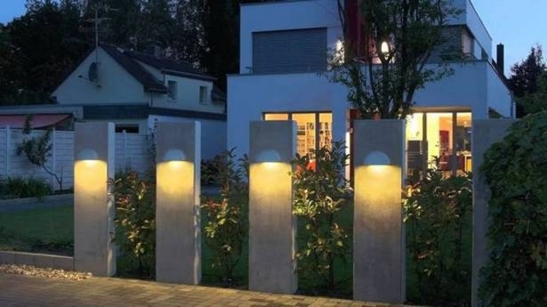 Outside Wall Lights For House Wonderful Stair Railings Photography Intended For Outdoor Home Wall Lighting (View 7 of 10)