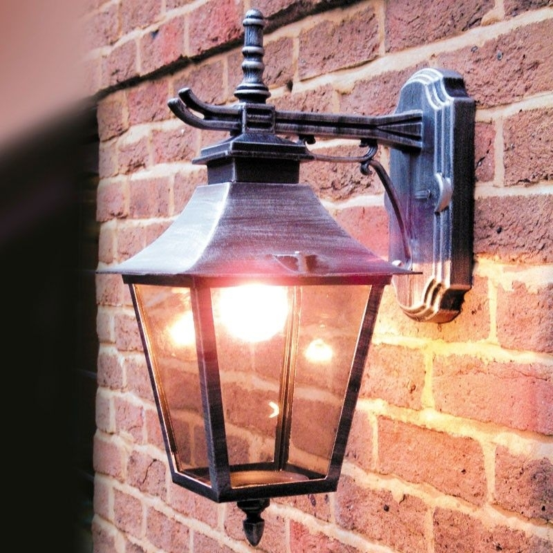 Paber Palazzo Coach Outdoor Hanging Lantern Wall Light | Lighting Throughout Hanging Outdoor Security Lights (Photo 2 of 10)