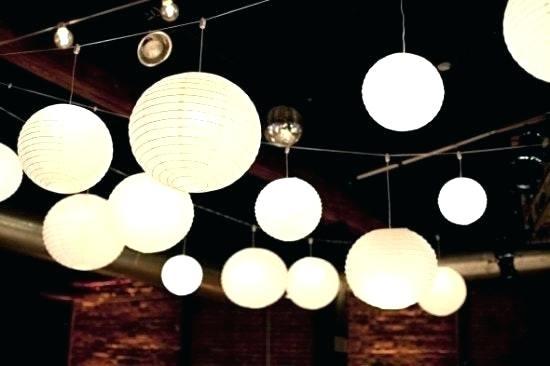 Paper Lantern Hanging Lamp Full Size Of Paper Lantern Lights Battery in Outdoor Hanging Paper Lantern Lights (Image 8 of 10)