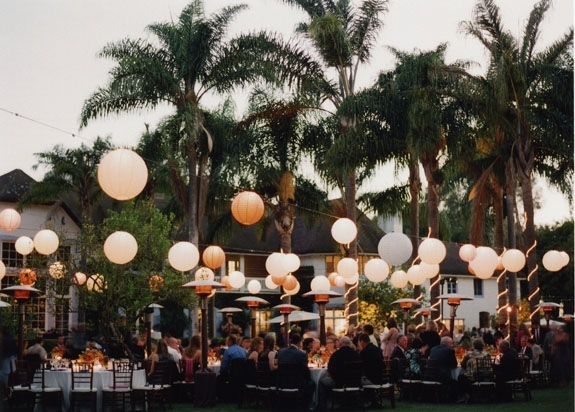 Paper Lanterns For Weddings | A Trusted Wedding Sourcedyal regarding Outdoor Hanging Nylon Lanterns (Image 9 of 10)