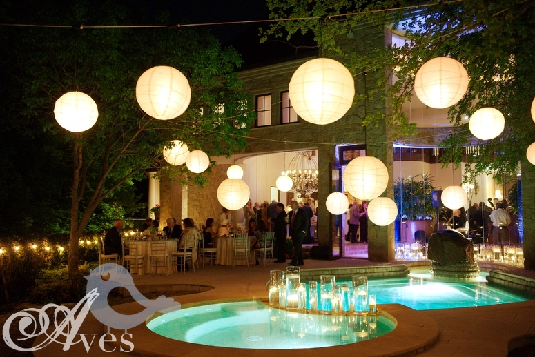 Paper Lanterns -- Mix Of Sizes, Colors, And Heights | Wedding intended for Outdoor Hanging Chinese Lanterns (Image 9 of 10)