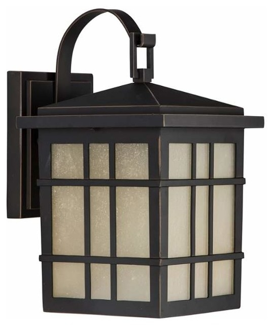 Park Harbor Phel1600 Ambler 1 Light Outdoor Wall Sconce - Craftsman regarding Craftsman Outdoor Wall Lighting (Image 8 of 10)
