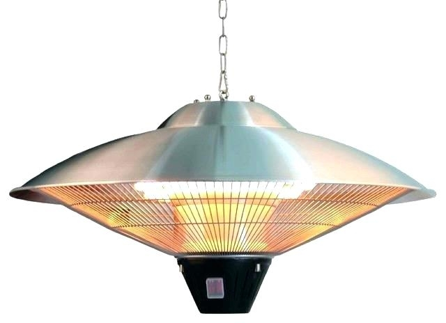 Patio ~ Heat Lamp Patio Patio Heaters Electric Hanging Gebo Infrared in Outdoor Hanging Heat Lamps (Image 9 of 10)