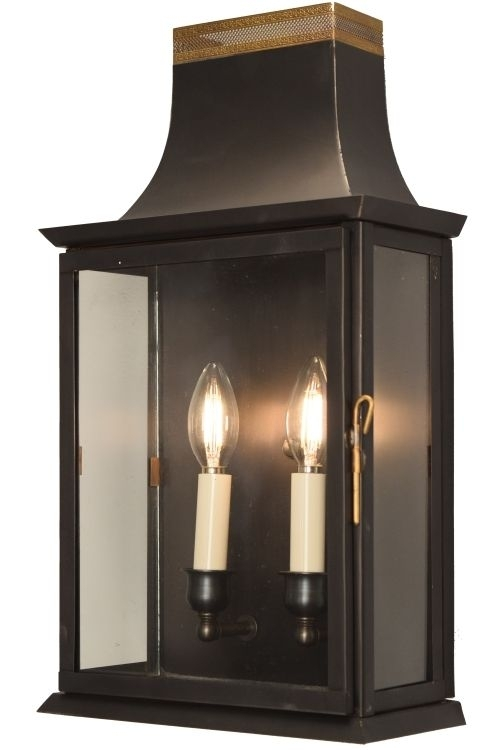Patrice Colonial Copper Lantern Wall Sconce | Copper Lantern, Wall within Made In Usa Outdoor Wall Lighting (Image 10 of 10)