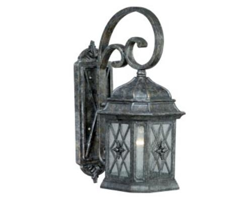 "Patriot Lighting® Chelsea Vintage Patina 20.5"" Outdoor Wall Light At within Outdoor Wall Lighting at Menards (Image 7 of 10)"