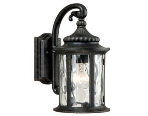 "Patriot Lighting® Valencia Gold Stone 12"" Outdoor Wall Light At Menards® With Regard To Patriot Lighting Outdoor Wall Lights (View 7 of 10)"