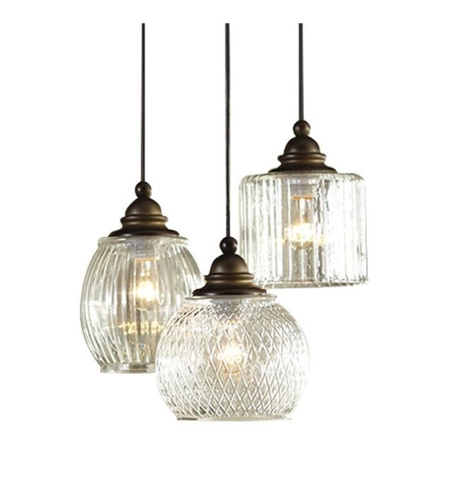 Paxton Glass Single Pendants | Blown Glass, Sinks And Pottery With Regard To Outdoor Hanging Glass Lights (Photo 1 of 10)