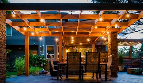 Pergola Design Ideas Lights For Pergola Stylish And Elegant Wooden in Outdoor Hanging Lights for Pergola (Image 9 of 10)