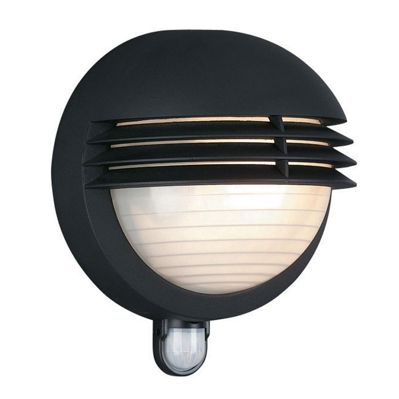 Philips Boston Outdoor Wall Light With Pir Sensor | Outdoor Lights inside Outdoor Wall Security Lights (Image 6 of 10)