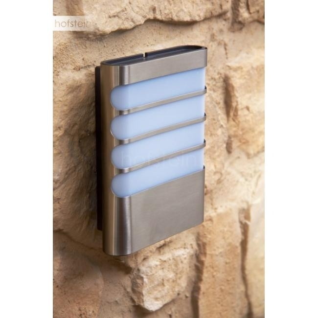 Philips Mygarden Raccoon Wall Light Led Stainless Steel 172734716 with regard to Led Outdoor Raccoon Wall Lights With Motion Detector (Image 5 of 10)