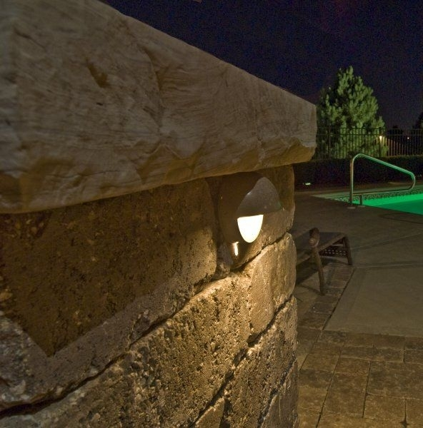 Pillar Lights Outdoor - Google Search | Lighting | Pinterest within Outdoor Wall Accent Lighting (Image 8 of 10)
