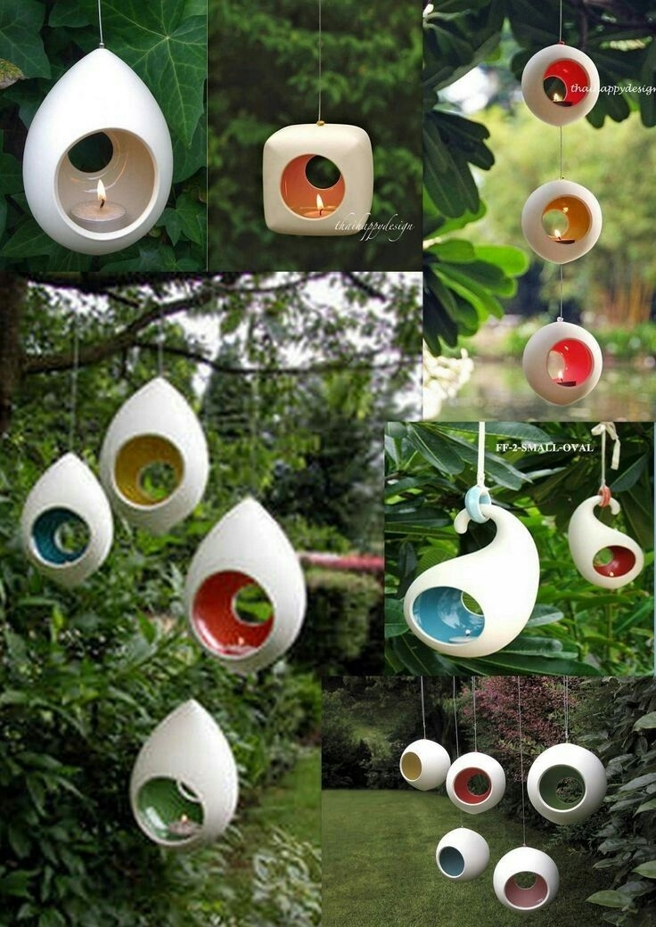 Pinfatma Kaya On Mumluklar | Pinterest | Clay in Outdoor Hanging Tea Lights (Image 10 of 10)