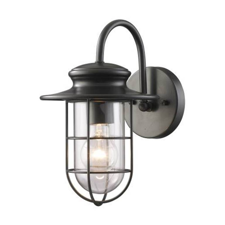 Porch Lights Home Depot Designing Ideas 2 8 Hampton Bay 180 Degree 1 for Outdoor Wall Lighting At Home Depot (Image 10 of 10)