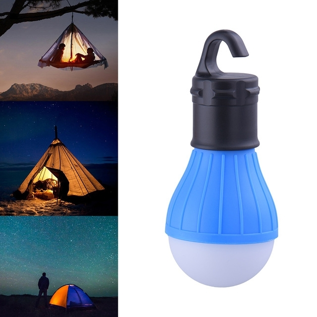 Portable Outdoor Hanging 3Led Camping Lantern,soft Light Led Camp inside Outdoor Hanging Camping Lights (Image 8 of 10)