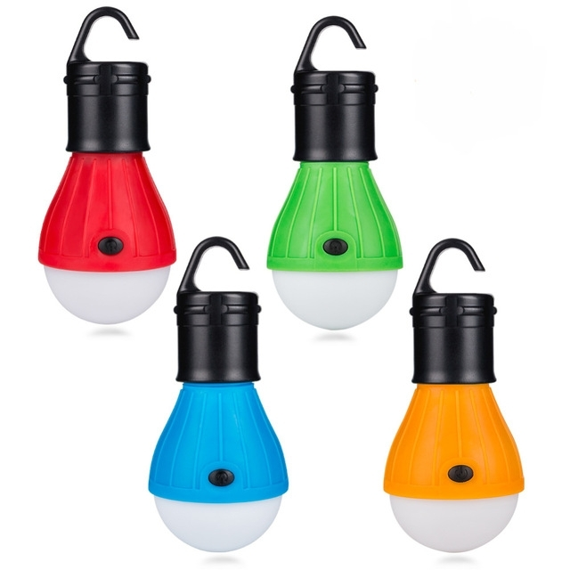 Portable Outdoor Hanging Tent Camping Lamp Soft Light Led Bulb pertaining to Outdoor Hanging Plastic Lanterns (Image 7 of 10)
