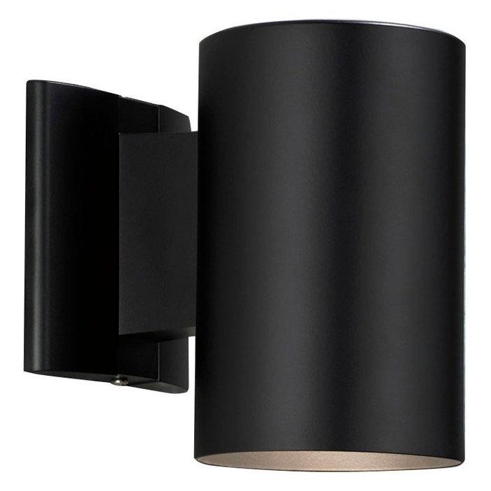 Portfolio 7 In H Black Dark Sky Outdoor Wall Light | Lowe's Canada With Regard To Dark Sky Outdoor Wall Lighting (View 10 of 10)