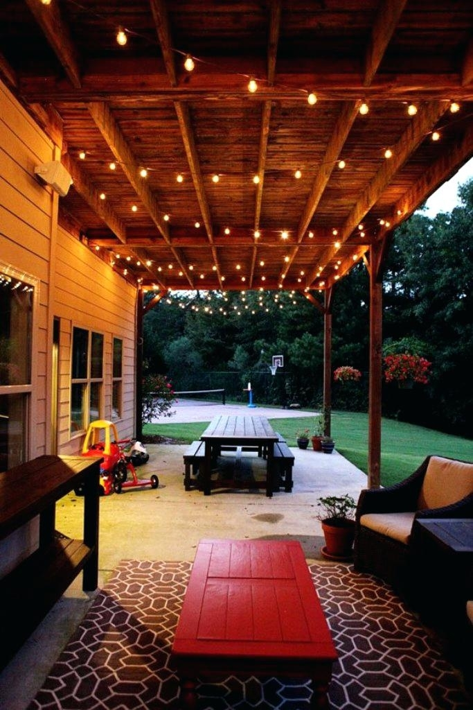 Pretty Outdoor Patio Hanging String Lights Tips On The Pretty inside Outdoor Patio Hanging String Lights (Image 9 of 10)