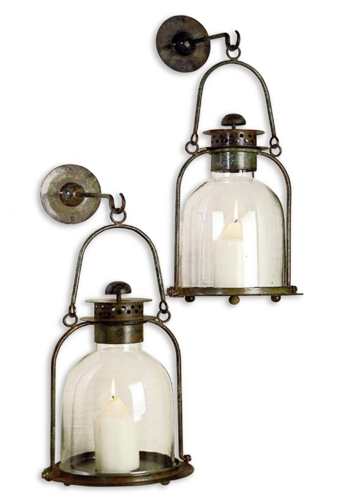 Product 16 Outdoor Wall Hanging Candle Lanterns Garden Wall Candle in Outdoor Hanging Candle Lanterns (Image 10 of 10)