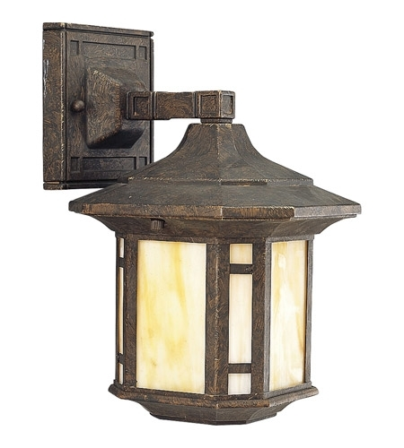 Progress P5628 46 Arts And Crafts 1 Light 11 Inch Weathered Bronze Inside Arts And Crafts Outdoor Wall Lighting (Photo 5 of 10)