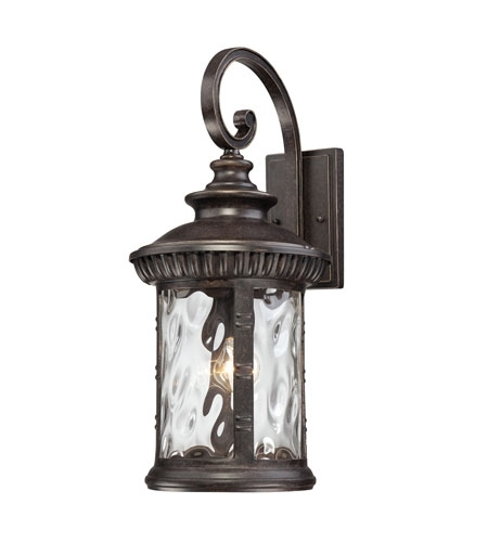 Quoizel Chi8411Ib Chimera 1 Light 23 Inch Imperial Bronze Outdoor with regard to Bronze Outdoor Wall Lighting (Image 9 of 10)