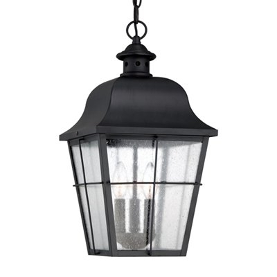 Quoizel Mhe1910K Millhouse Outdoor Hanging Lantern | Lowe's Canada Within Outdoor Hanging Lanterns From Canada (View 9 of 10)