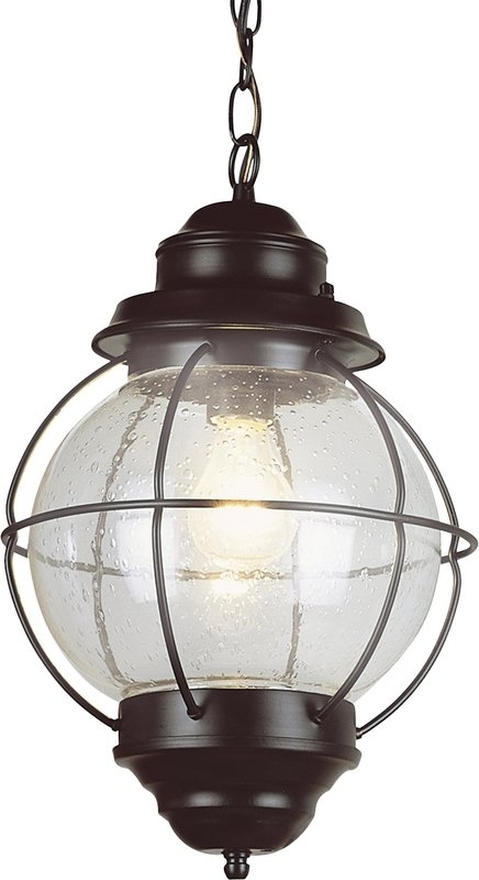 Ravenwood 1-Light Outdoor Hanging Lantern & Reviews | Allmodern within Outdoor Hanging Glass Lights (Image 8 of 10)